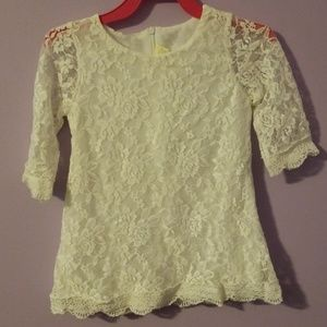 Other - 2/3t lined lace dress